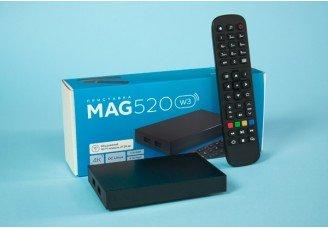 MAG520/MAG520w3 Bewertung: Neue 4K-fähige Linux Set-Top-Box von Infomir