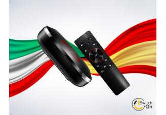 ¡SwitchOnShop ya está disponible en italiano y español!