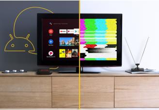 Nuevas formas de ver la televisión con Android TV™