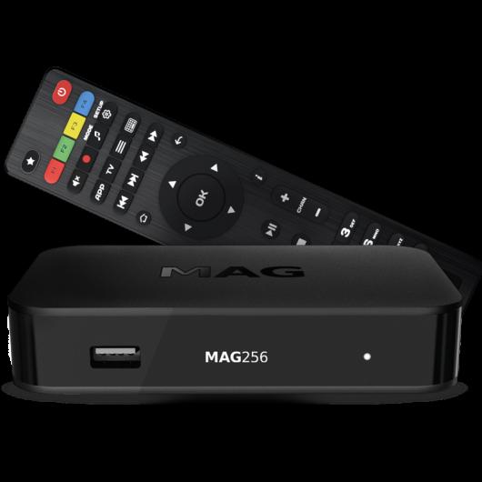 MAG256 Linux IPTV/OTT Box / 1080p Video / RAM 1 GB / 1500 MHz media processor / HDMI 1.4 interface / Linux 3.3 / USB 3.0