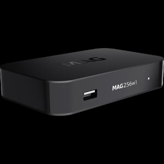 MAG256w1 Linux IPTV/OTT Box / Eingebautes WiFi 2.4 GHz / 1080p Video / RAM 1 GB / 1500 MHz Medienprozessor / HDMI 1.4 Schnittstelle / Linux 3.3 / USB 3.0