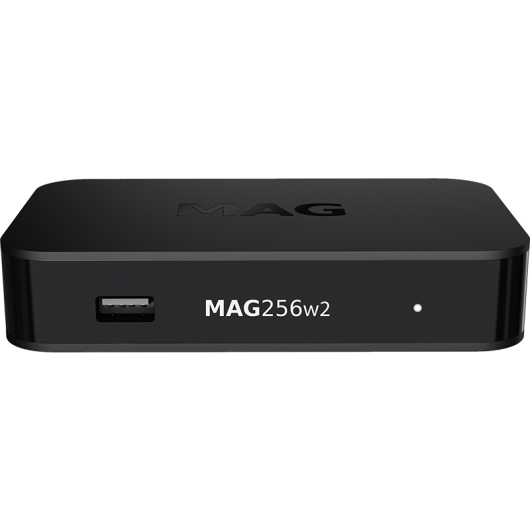 MAG256w2 Linux IPTV / OTT Box / WiFi integrato 2,4 GHz; Video da 5,0 GHz / 1080p / RAM Processore multimediale da 1 GB / 1500 MHz / Interfaccia HDMI 1.4 / Linux 3.3 / USB 3.0