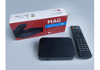 The MAG420/MAG420w1 Review: a High-performance Set-top Box with 4K Support
