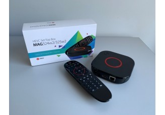 MAG324/MAG324w2 review: a powerful set-top box with a unique design