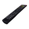 Multi-purpose Remote Control - Slim and Ergonomic Design / Special Buttons / Quick Access to Favorites / TV guide / Virtual Keyboard