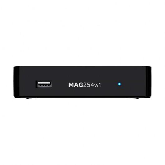MAG254 Linux IPTV/OTT Box / Built-in WiFi / 1080p Video / RAM 512 MB / 650 MHz media processor / HDMI 1.4 interface / Linux 2.6.23