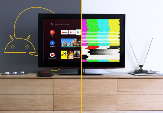 Neue Möglichkeiten, mit Android TV™ fernzusehen