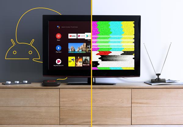 Nuovi modi per guardare la televisione grazie ad Android TV ™
