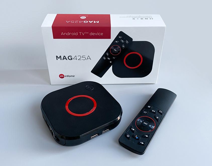 Évaluation du décodeur MAG425A