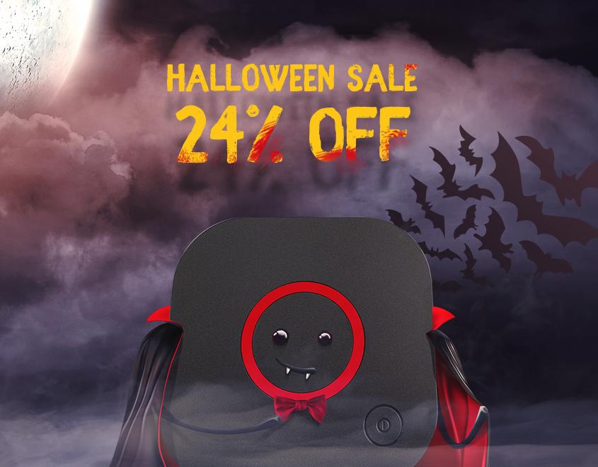 Aterradores Descuentos: –24% Descuento por Halloween