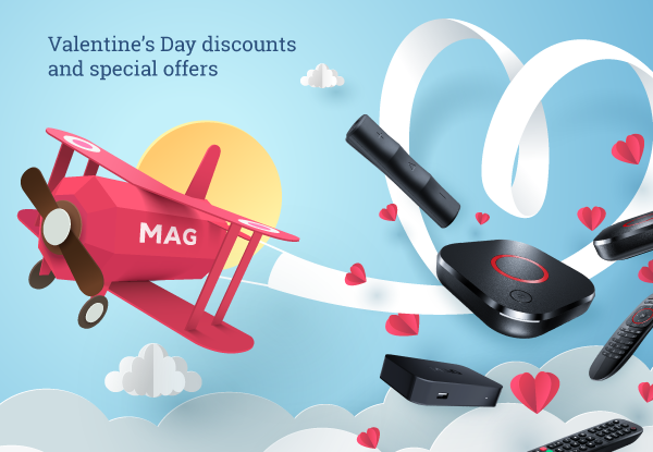 St. Valentine's Day discounts and special offers