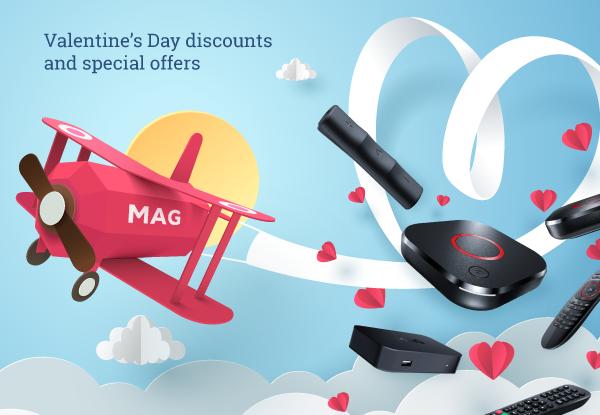 Réductions et offres spéciales pour la Saint-Valentin